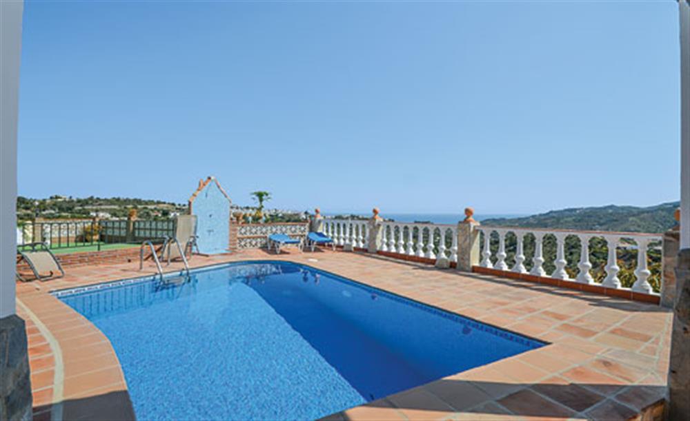 Swimming pool (photo 2) at Villa Amparo, Frigiliana, Andalucia