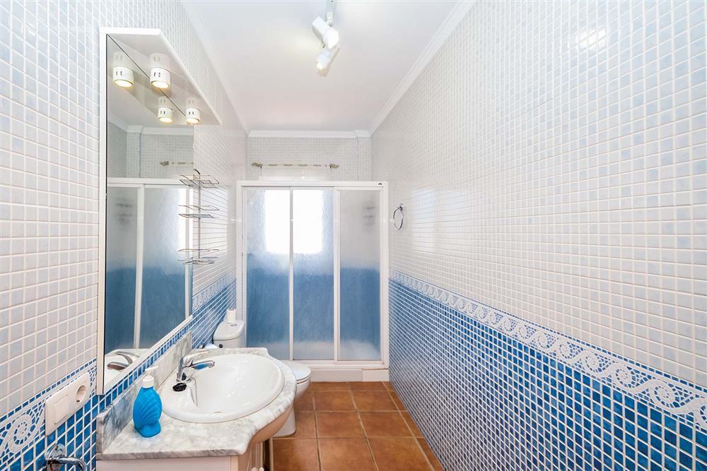 Bathroom at Villa Ana, Nerja, Andalucia