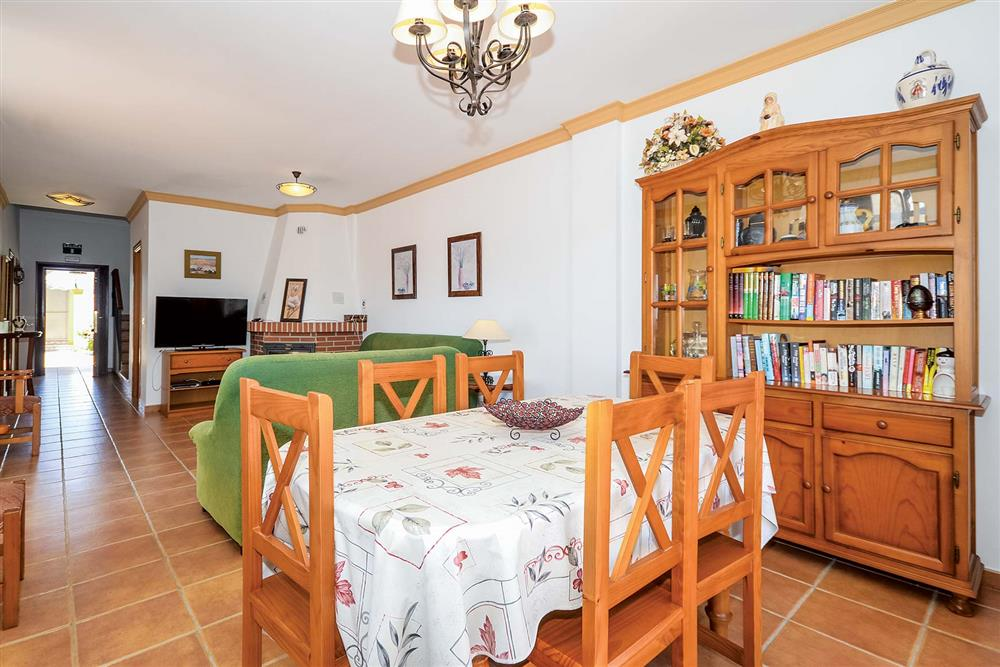 Dining room, lounge at Villa Ana, Nerja, Andalucia