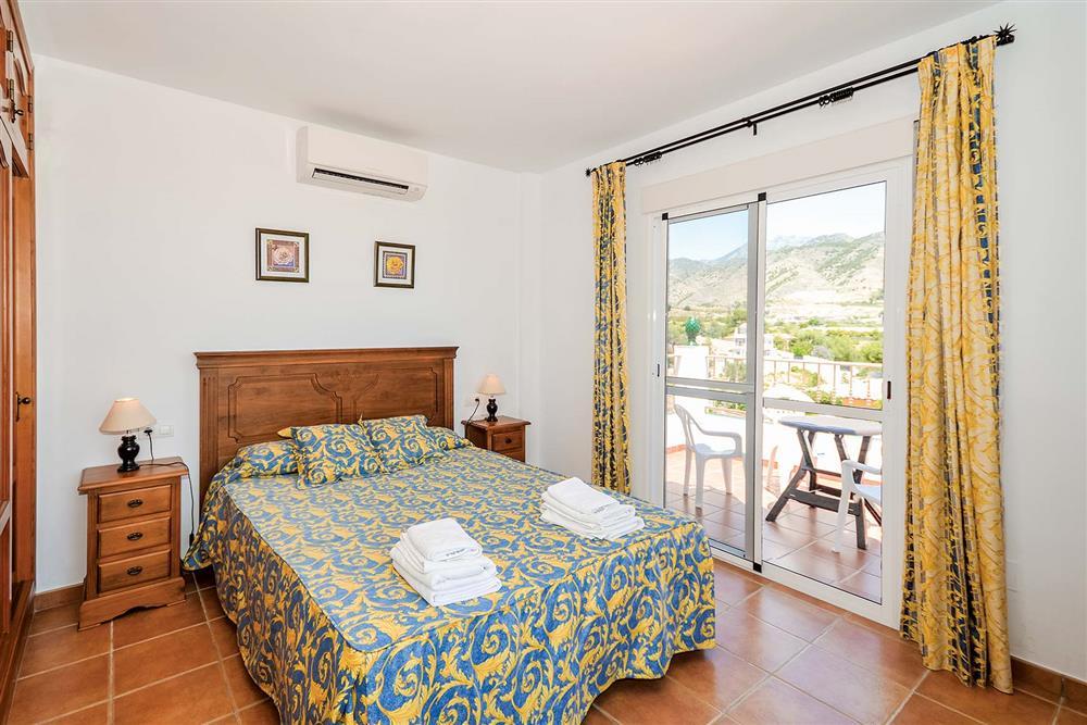 Double bedroom at Villa Ana, Nerja, Andalucia