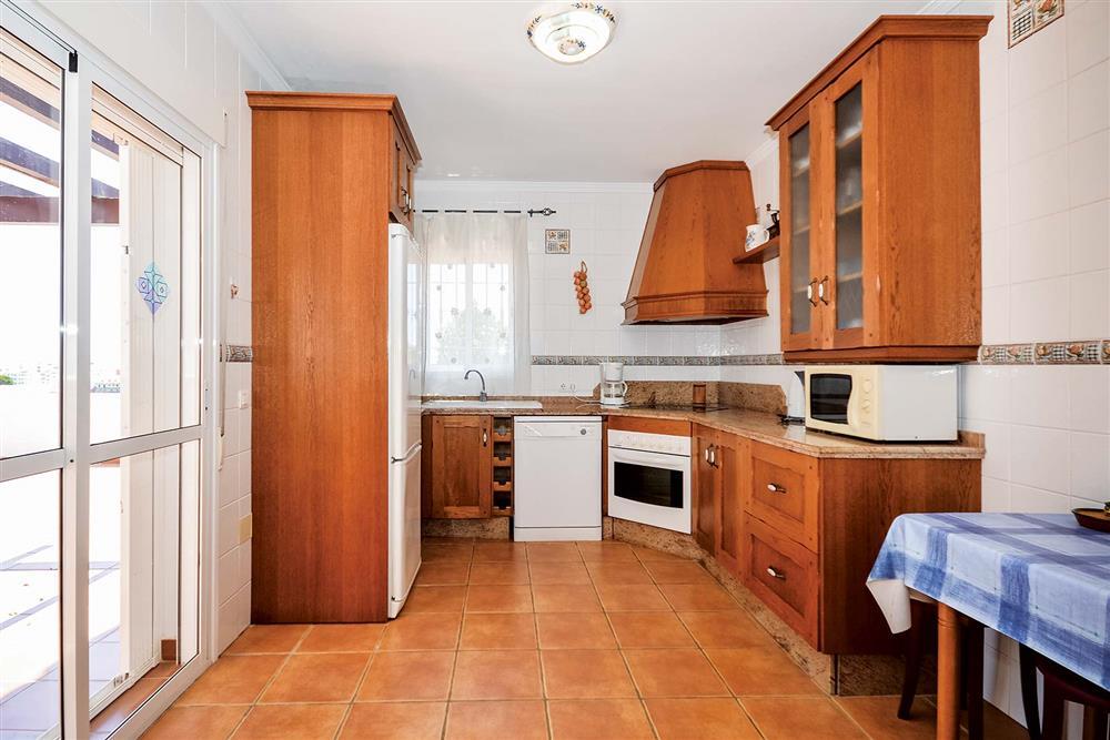 Kitchen at Villa Ana, Nerja, Andalucia