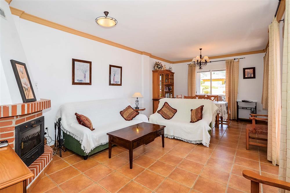 Lounge at Villa Ana, Nerja, Andalucia