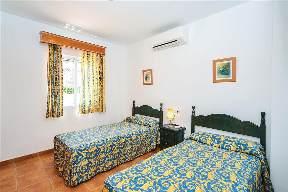 Twin bedroom (photo 2) at Villa Ana, Nerja, Andalucia