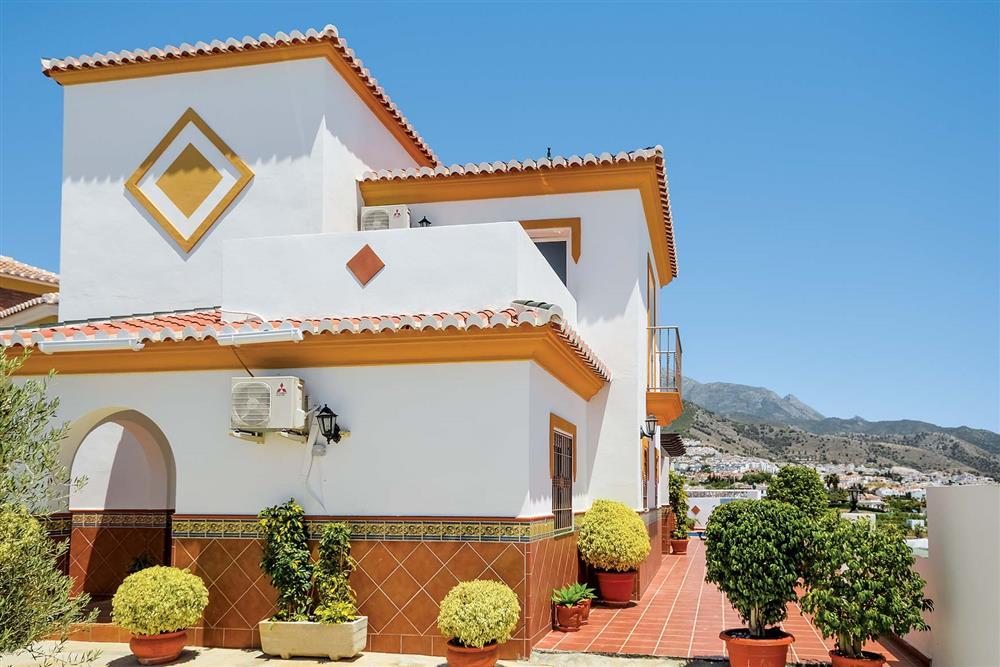 Villa exterior at Villa Ana, Nerja, Andalucia