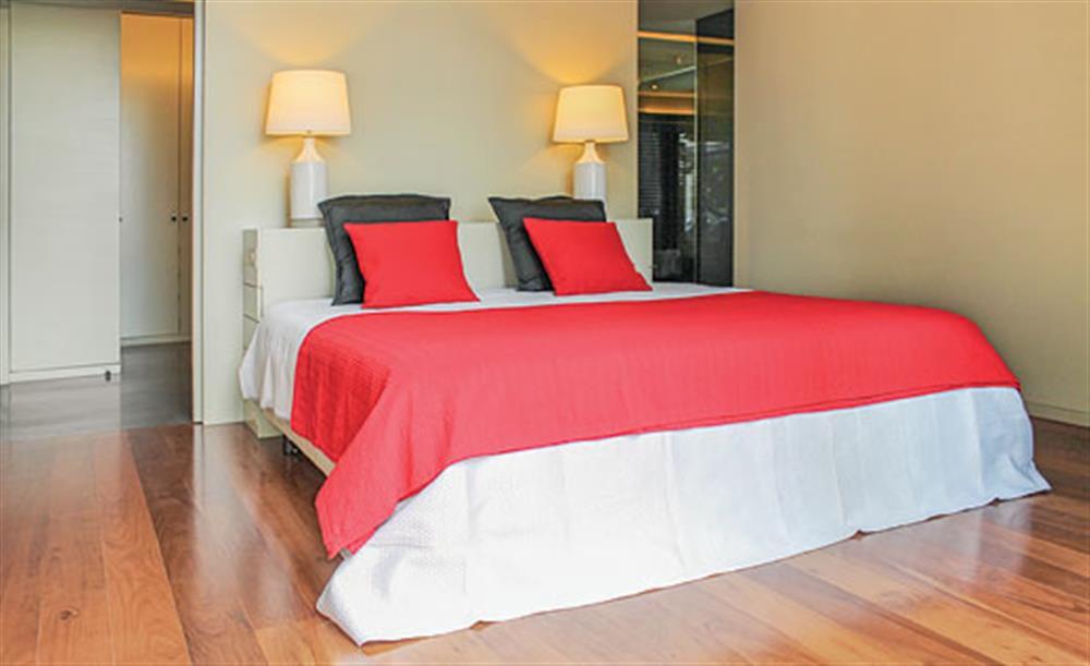 Double bedroom at Villa Andrade, Funchal, Madeira