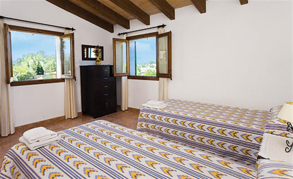 Twin bedroom (photo 2) at Villa Antonias , Pollensa Mallorca, Spain