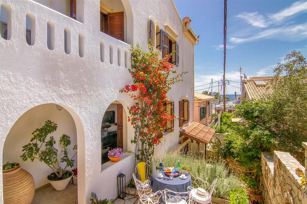 Villa exterior