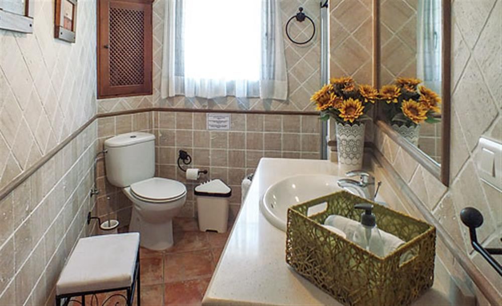 Bathroom at Villa Aurora, Nerja Andalucia, Spain