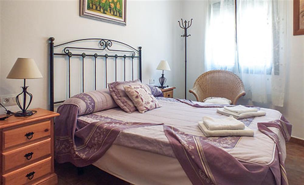 Double bedroom at Villa Aurora, Nerja Andalucia, Spain