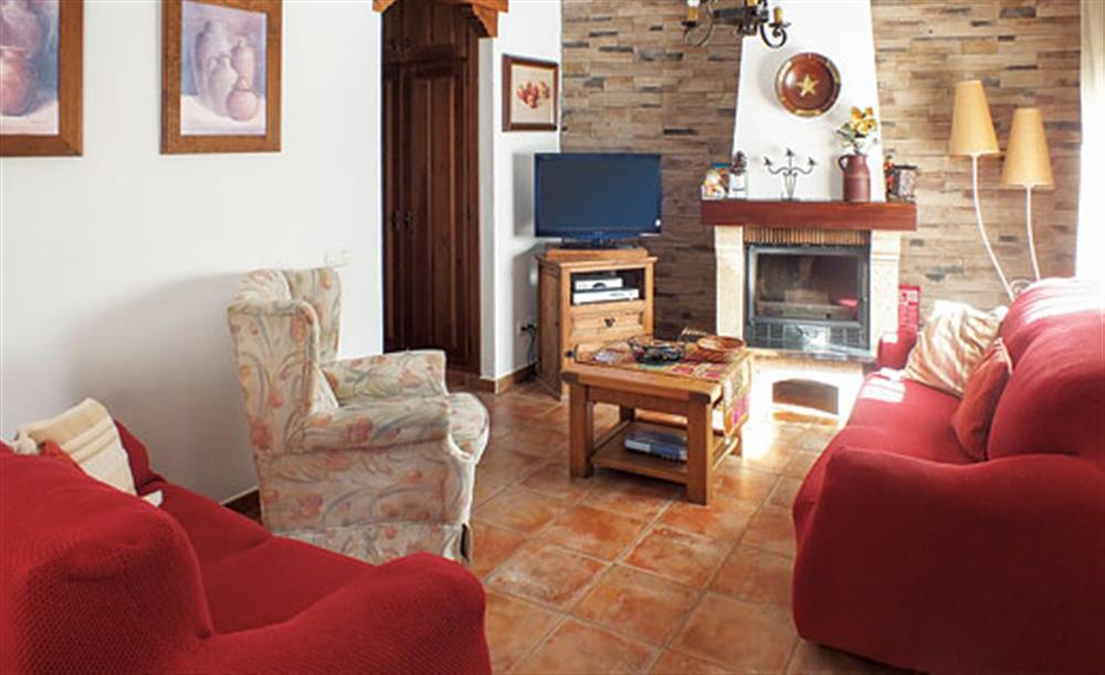 Living room at Villa Aurora, Nerja Andalucia, Spain