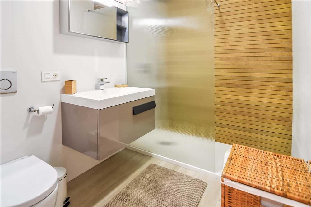 Bathroom at Villa Aurorita, Nerja, Andalucia