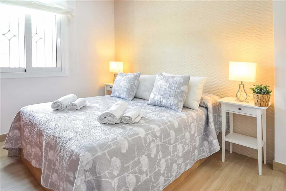 Double bedroom at Villa Aurorita, Nerja, Andalucia