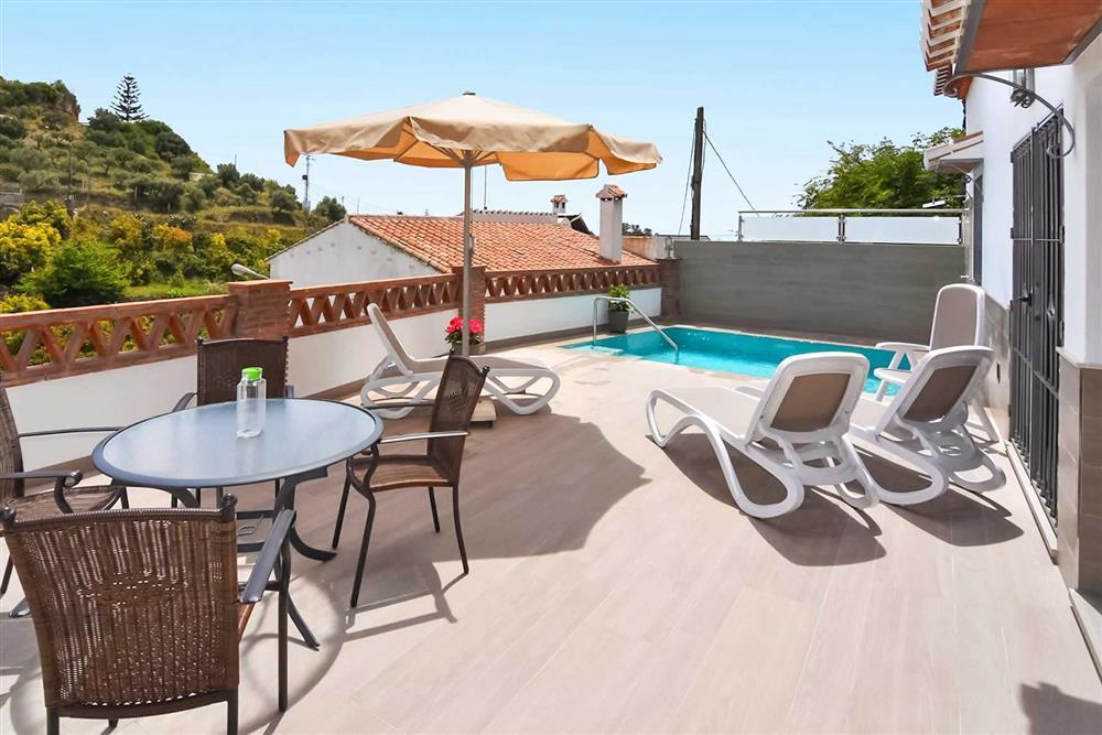 Pool at Villa Aurorita, Nerja, Andalucia