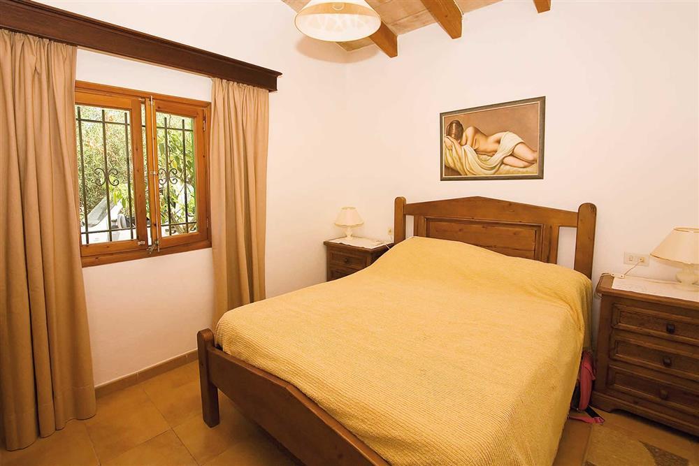 Double bedroom at Villa Bosque, Pollensa Mallorca, Spain