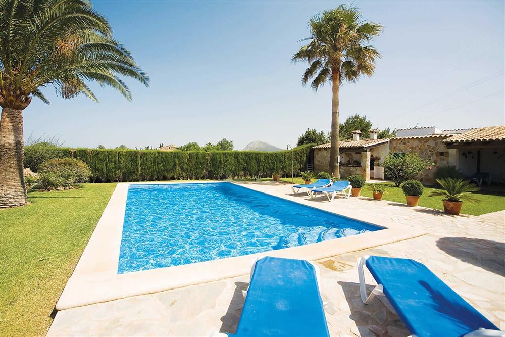 Swimming pool (photo 2) at Villa Bosque, Pollensa Mallorca, Spain