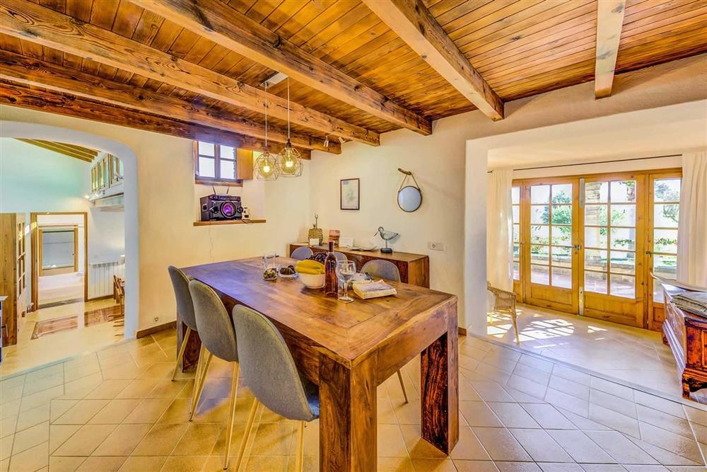 Dining room at Villa Cabanellas, Pollensa, Mallorca