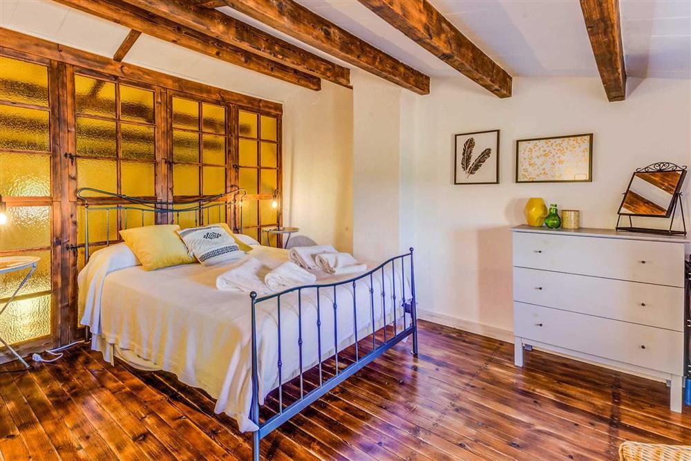 Double bedroom at Villa Cabanellas, Pollensa, Mallorca