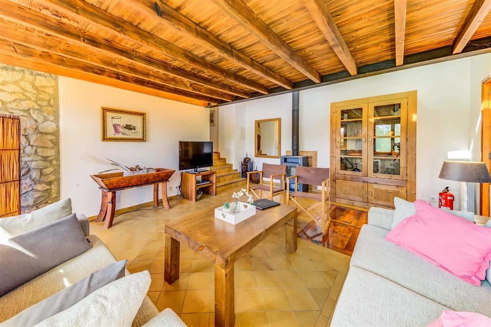 Lounge at Villa Cabanellas, Pollensa, Mallorca