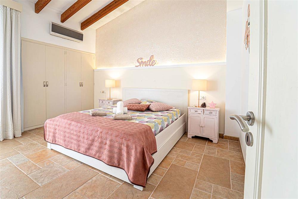 A bedroom at Villa Can Bobis Gran, Pollensa, Mallorca