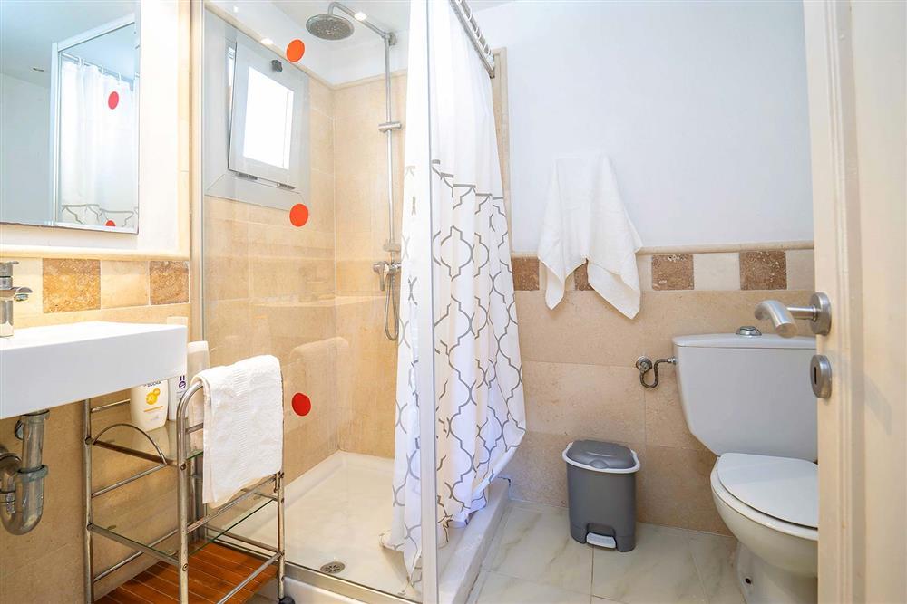 Bathroom at Villa Can Bobis Gran, Pollensa, Mallorca
