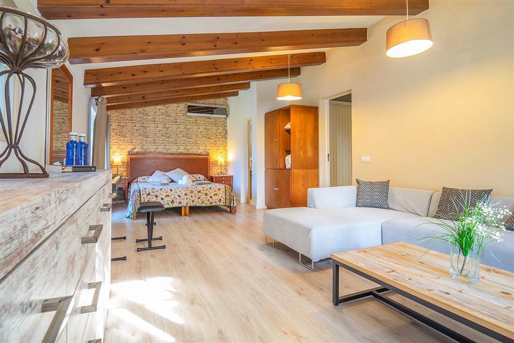 Double bedroom (photo 2) at Villa Can Bobis Gran, Pollensa, Mallorca