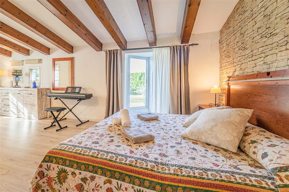 Double bedroom at Villa Can Bobis Gran, Pollensa, Mallorca
