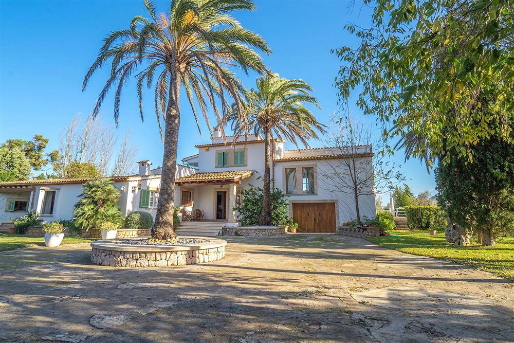 Outside Villa Can Bobis Gran at Villa Can Bobis Gran, Pollensa, Mallorca