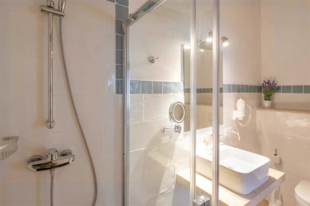 Bathroom at Villa Can Butxaca, Pollensa, Mallorca