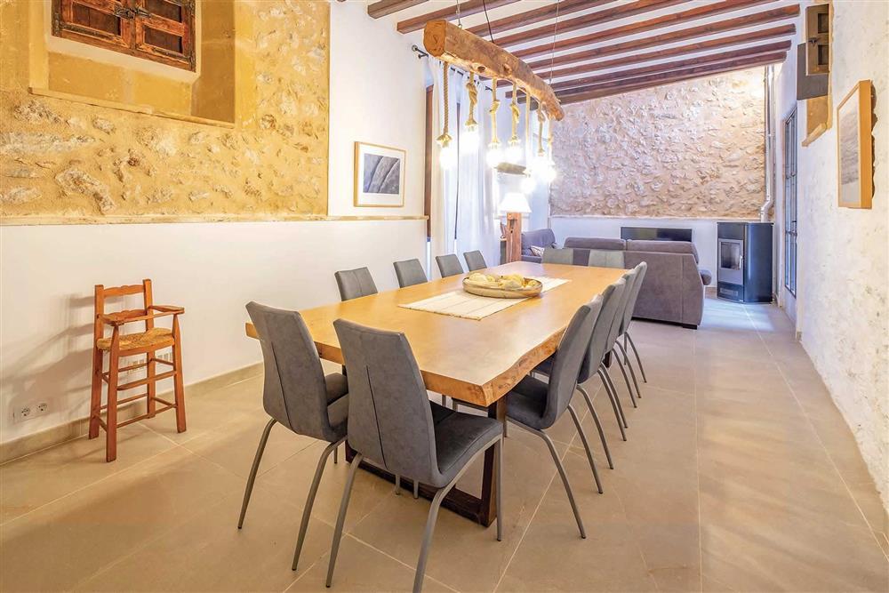 Dining room at Villa Can Butxaca, Pollensa, Mallorca
