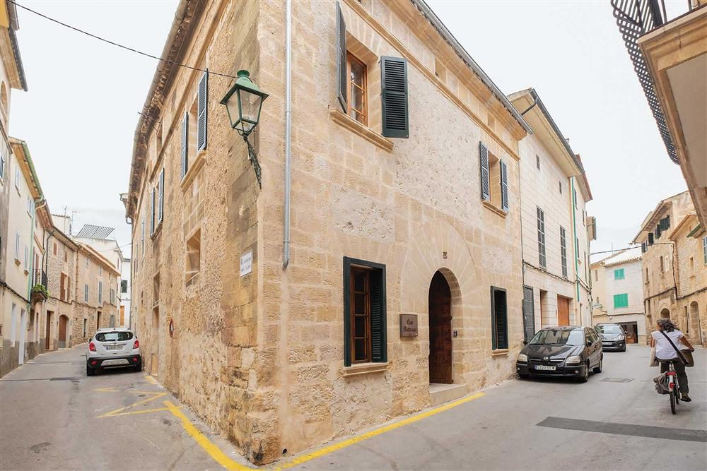 The setting of Villa Can Butxaca at Villa Can Butxaca, Pollensa, Mallorca