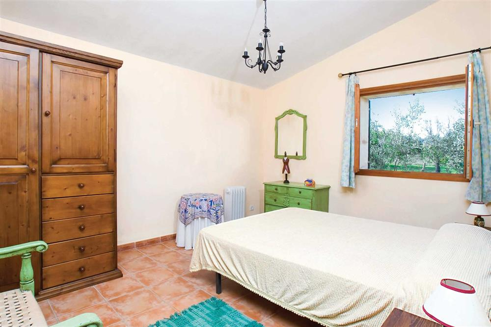 Bedroom at Villa Can Canaveret, The Balearic Islands, Spain