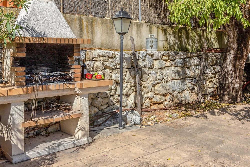 Barbecue at Villa Can Gallardo, Pollensa, Mallorca