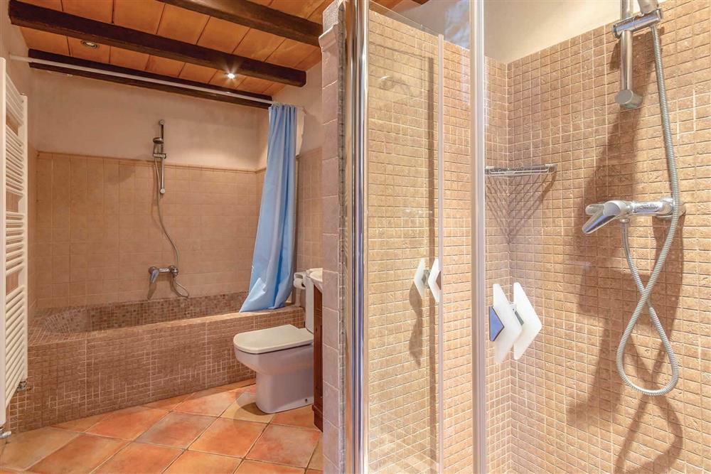 Bathroom at Villa Can Gallardo, Pollensa, Mallorca