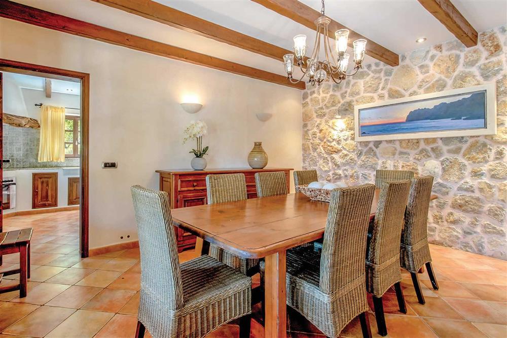 Dining room (photo 2) at Villa Can Gallardo, Pollensa, Mallorca
