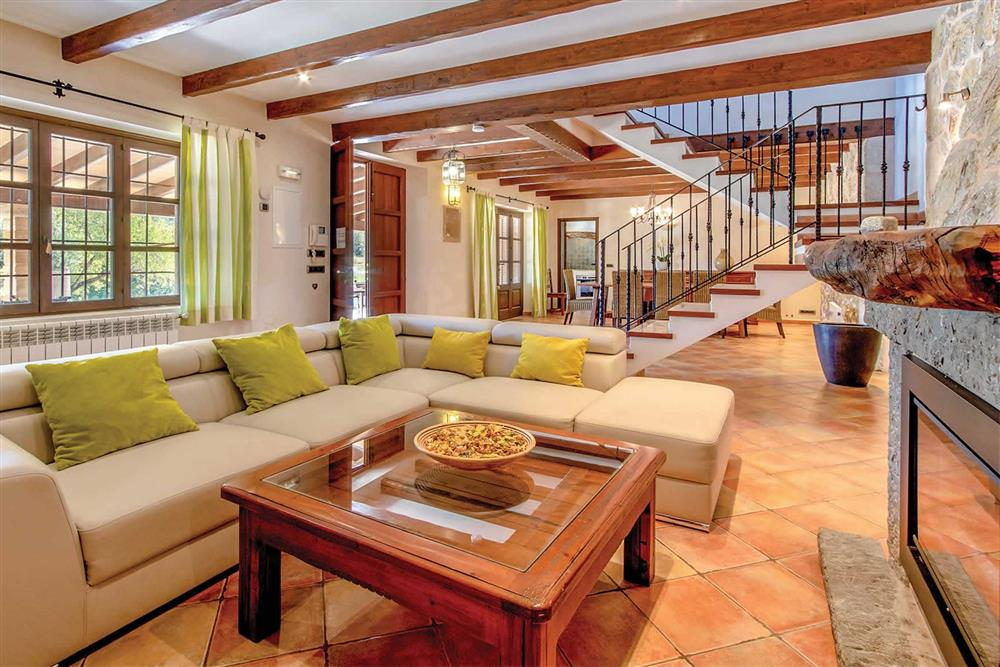 Lounge (photo 2) at Villa Can Gallardo, Pollensa, Mallorca