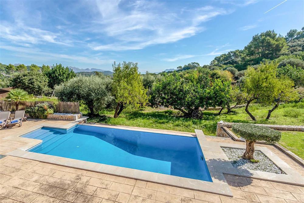 Pool at Villa Can Gallardo, Pollensa, Mallorca