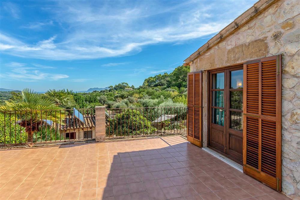 View at Villa Can Gallardo, Pollensa, Mallorca