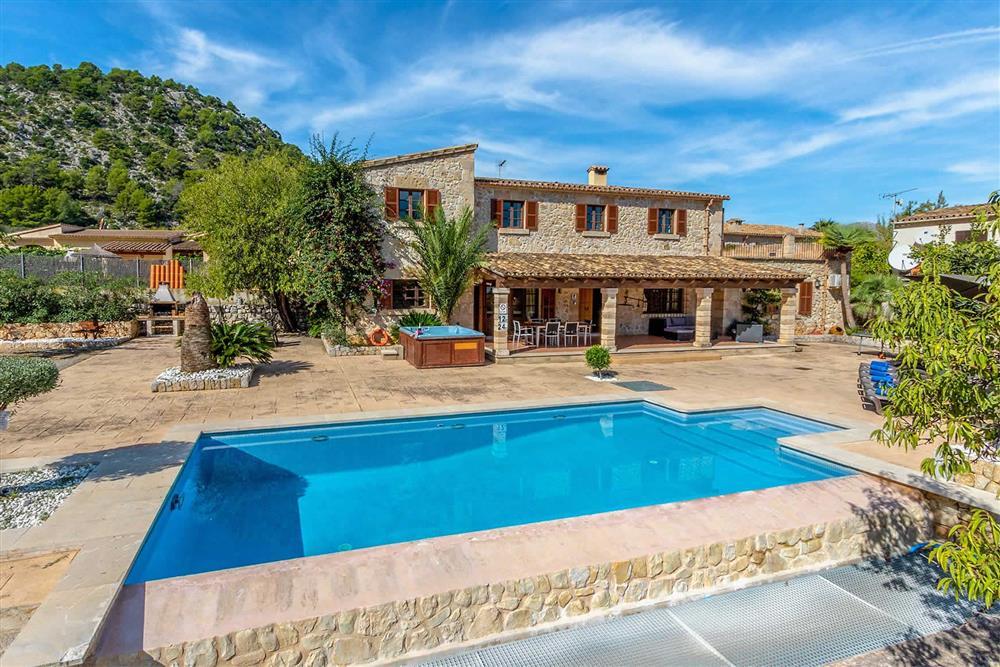Villa with pool at Villa Can Gallardo, Pollensa, Mallorca