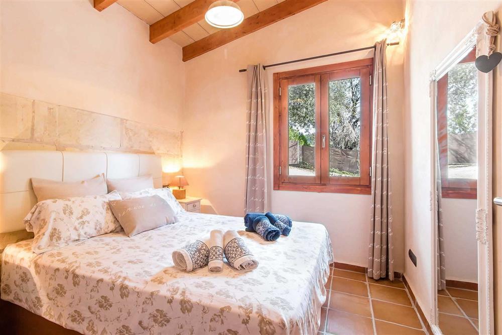 Double bedroom at Villa Can Gardo, Pollensa, Mallorca