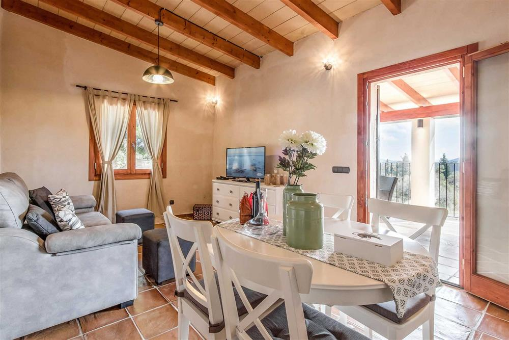 Inside Villa Can Gardo at Villa Can Gardo, Pollensa, Mallorca