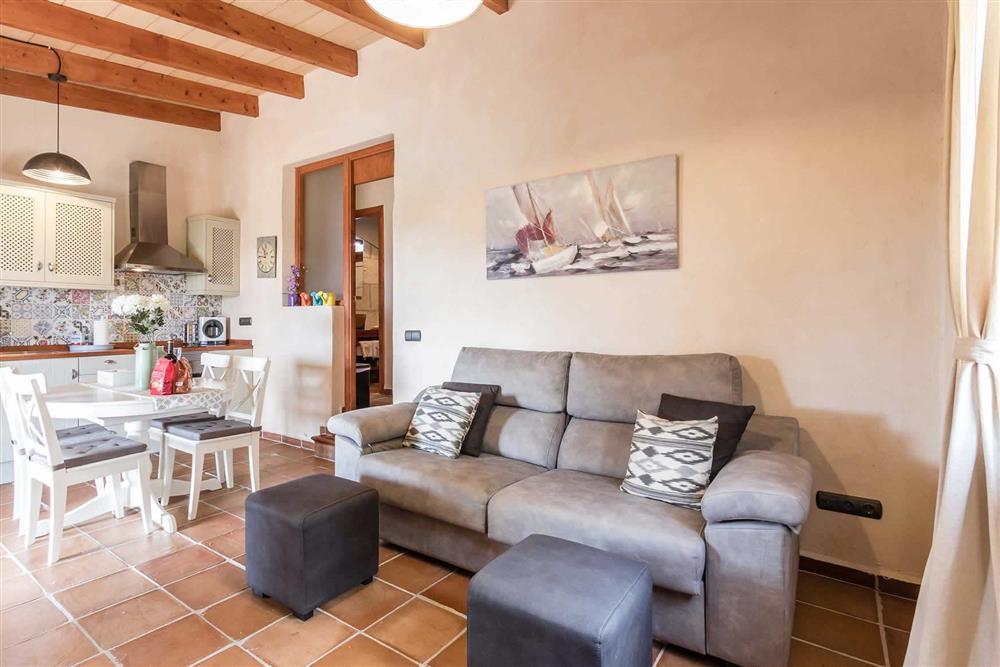 Living room (photo 2) at Villa Can Gardo, Pollensa, Mallorca