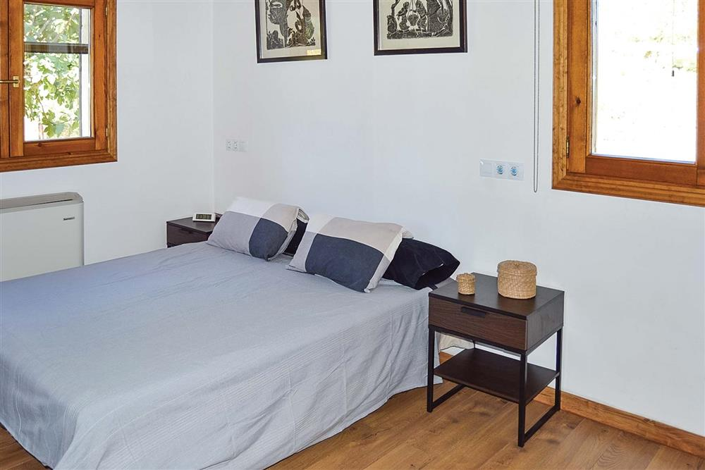 Double bedroom at Villa Can Segue, Alcudia, Mallorca