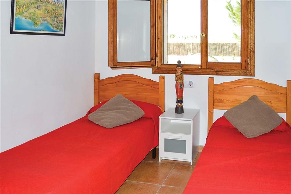Twin bedroom at Villa Can Segue, Alcudia, Mallorca