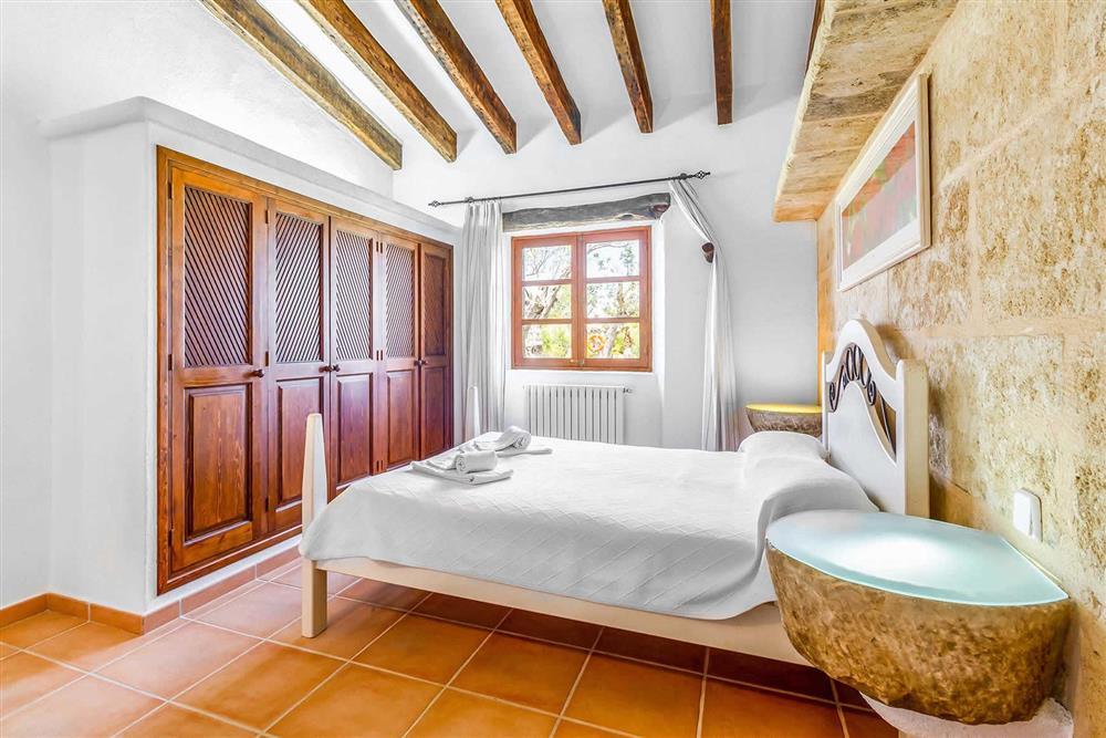 Double bedroom at Villa Can Segue Dos, Alcudia, Mallorca