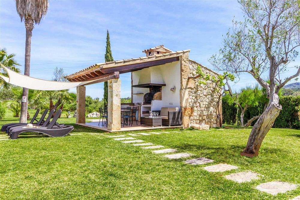 Garden at Villa Can Segue Dos, Alcudia, Mallorca