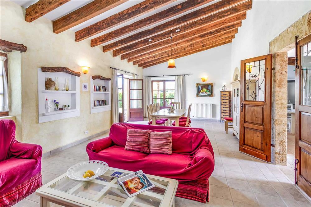 Inside Villa Can Segue Dos at Villa Can Segue Dos, Alcudia, Mallorca