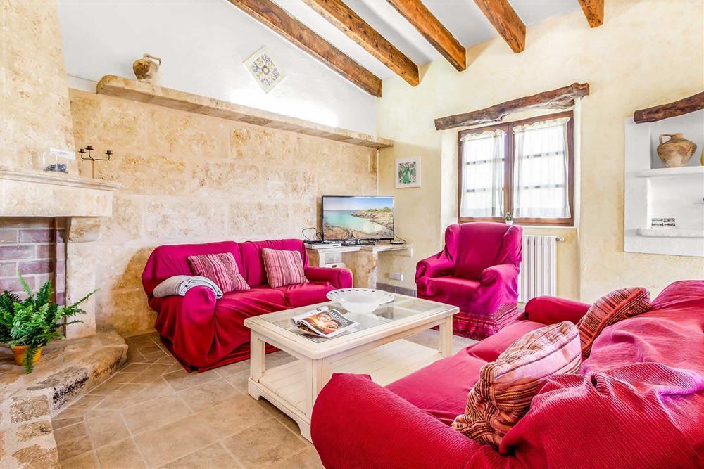 Living room at Villa Can Segue Dos, Alcudia, Mallorca