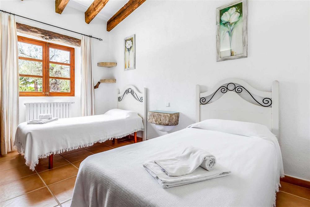 One of the bedrooms at Villa Can Segue Dos, Alcudia, Mallorca
