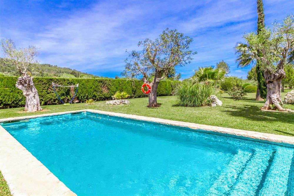 Swimming pool at Villa Can Segue Dos, Alcudia, Mallorca