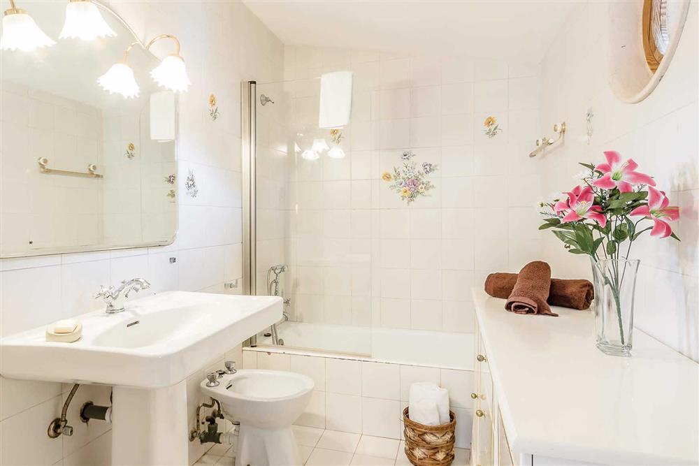Bathroom at Villa Can Segui, Puerto Pollensa, Mallorca